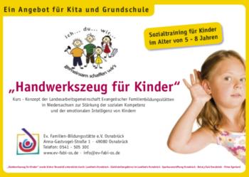 Handwerkszeug für Kinder © Familienbildungsstätte Lüneburg